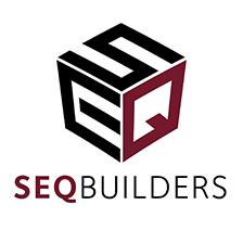 An SEQ Builders large logo